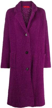 Roberto Collina Curly Wool Cardi-Coat
