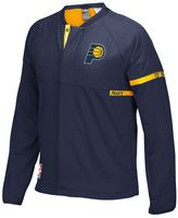 adidas Men's Indiana Pacers On-Court Henley Jacket
