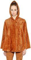 Drome Reversible Hooded Fur Jacket