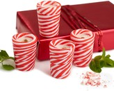 Twos Company Two's Company Peppermint Twist Shot Glasses, Set of 4