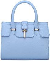 MEbox Womens Simple PU Leather Handbag Top Handle Shoulder Bag