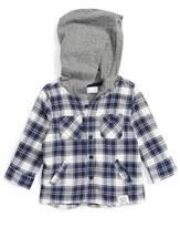 Pumpkin Patch Hooded Shirt (Baby Boys)