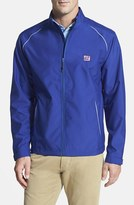 Cutter & Buck Men's Big & Tall 'New York Giants - Beacon' Weathertec Wind & Water Resistant Jacket