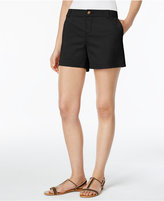 Style&Co. Style & Co Twill Shorts, Created for Macy's