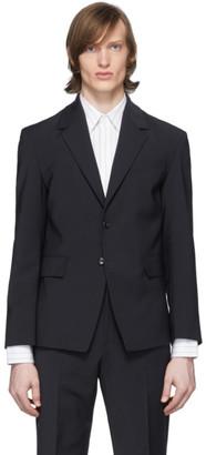 Deveaux New York Navy Suit Blazer