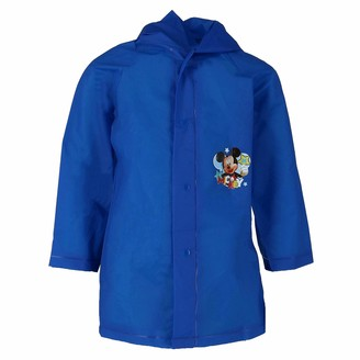 Disney Kid's Mickey Mouse and Friends Rain Coat Large 5/6