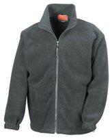 RyteApparel Mens Fleece Jacket-Result Full Zip Heavy Active, Fleece Jacket