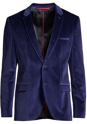 HUGO BOSS Extra-Slim Fit Arti Velvet Jacket