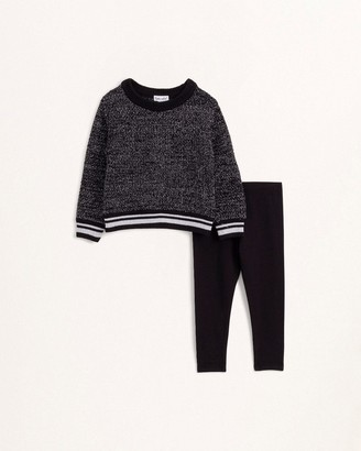 Splendid Toddler Girl Lurex Knit Top Set