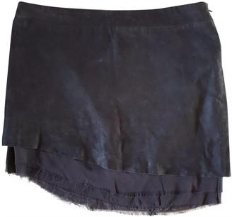 Lala Berlin Black Leather Skirts