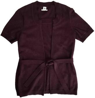 Hermes Burgundy Wool Knitwear