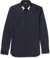 Neil Barrett - Slim-fit Printed Cotton-poplin Shirt
