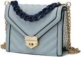 Mkf Collection By Mia K. MKF Collection by Mia K. Women's Crossbodies - Light Blue Darli Small Crossbody