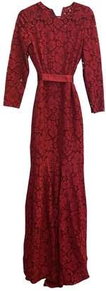 Carolina Herrera Pink Lace Dress for Women