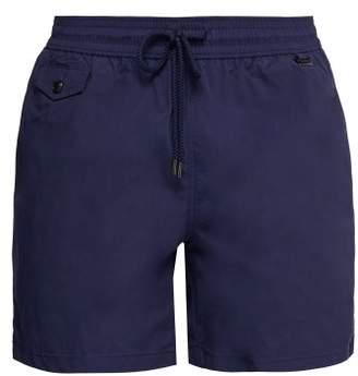 Polo Ralph Lauren Explorer Fit Logo Embroidered Swim Shorts - Mens - Navy