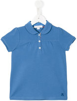 Burberry Peter Pan collar polo shirt - kids - Cotton/Spandex/Elastane - 6 yrs