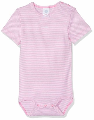Sanetta Baby Girls' Body 1/2 Stripe Bodysuit