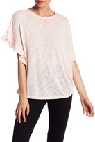 Gibson Ruffled Knit Tee