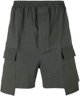 Rick Owens deconstructed cargo shorts