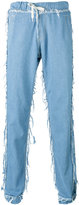 Andrea Crews loose-fit frayed jeans - men - Cotton - S