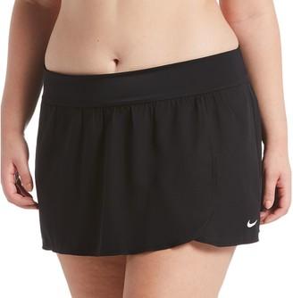 Nike Plus Size Element Solid Swim Boardskirt