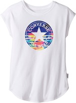 Converse Printed Chuck Patch Tee (Big Kids)