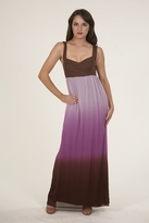 Sweetees Panther Dress in Brown/Pink/Purple