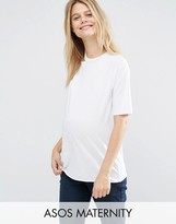 Asos T-Shirt with One Shoulder and Cut Out Detail