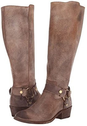 Frye Carson Harness Tall (Chocolate Extended) Women's Boots