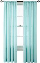 Martha Stewart MarthaWindowTM Hawley Rod-Pocket Cotton Curtain Panel