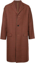 TOMORROWLAND houndstooth pattern coat