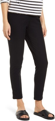 Angel Maternity Over the Belly Crop Slim Maternity Pants