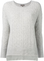 N.Peal cashmere oversize box cable jumper - women - Cashmere - S