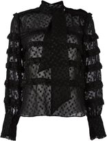 Isabel Marant 'Alba' blouse - women - Polyester - 34