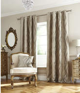 Accessorize Victoria Eyelet Curtain Set
