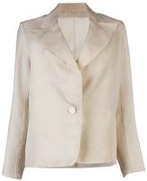 Lanvin Frayed jacket