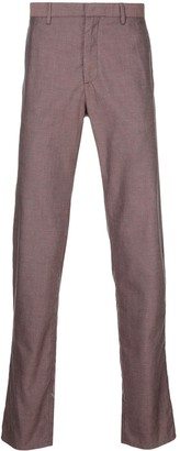 Cerruti tailored check trousers