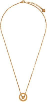 Versace Gold Medusa Ring Necklace