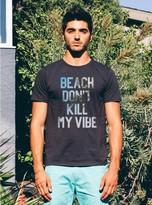 Junk Food Clothing Beach Don't Kill My Vibe Tee-bkwa-m