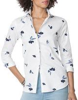 Chaps Petite Non-Iron Sateen Shirt