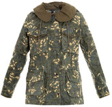 Marc by Marc Jacobs Camouflage parka jacket