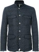 Etro padded jacket - men - Lamb Skin/Acrylic/Polyamide/Wool - M