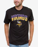 Junk Food Clothing Men's Minnesota Vikings Split Arch T-Shirt