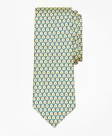 Brooks Brothers Medallion Link Print Tie