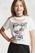 Forever 21 Girls Midnight Vibes Tee (Kids)