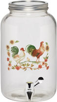 Pfaltzgraff Rooster Meadow Glass Beverage Dispenser
