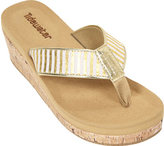 Women's Tidewater Sandals Onslow Gold Wedge