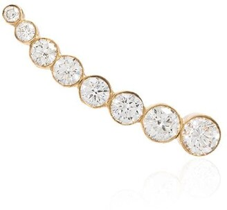 Sophie Bille Brahe 18kt Yellow Gold Diamond Cuff Earring