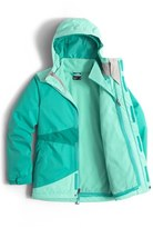The North Face Girl's 'Mountain View' Hooded Waterproof Triclimate 3-In-1 Jacket
