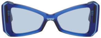 MAISON KITSUNÉ Navy Khromis Edition Cat-Eye Sunglasses